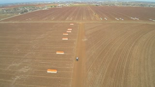 Winter cotton field 1