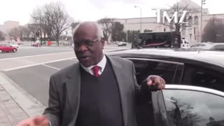 Internet Goes WILD at Video of Clarence Thomas Laughing at TMZ Reporter