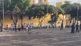 Enfrentamiento Palacio de Justicia
