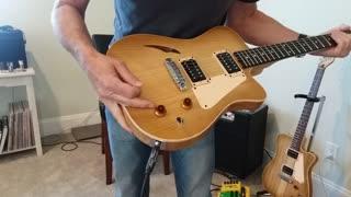 KazTone Handcrafted Guitars Honey-Do demo.