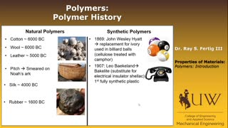 Polymers - Introduction