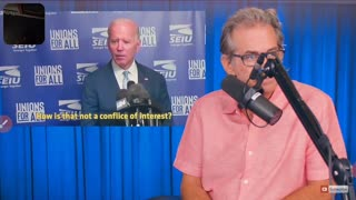 Jimmy Dore. There's no conflict of interest... He just says it
