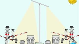 Solar Railroad Crossing Systems from Solar Lighting International