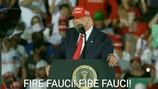 """FIRE FAUCI! Crowd Chants and President Trump Suggests """"After the Election."""""""