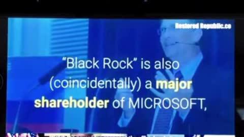 "Coincidentally ""accidentally"" all connected: WHO Soros Gates Fauci Wuhan GSK BlackRock"