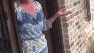Innocent grandma 😁