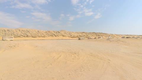 El Rayan Desert In The Morning