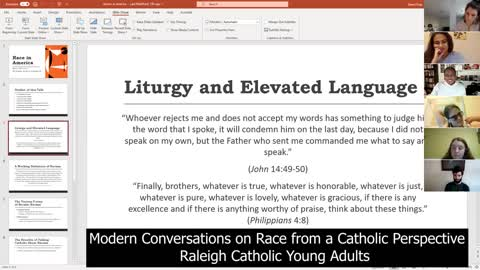 Modern Discourses on Race from a Catholic Perspective