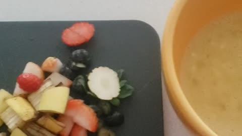 Easy Mini Pig Breakfast