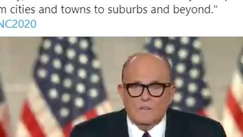 Rudy for Trump great Speech