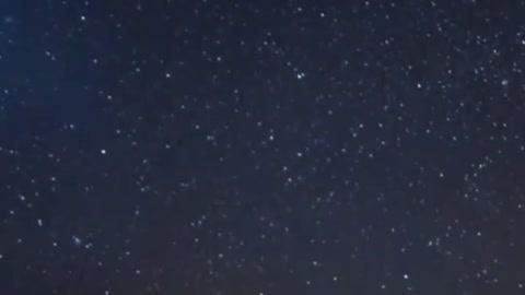 Strange sounds over night in the sky