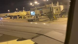 American Airlines land in Tampa Airport