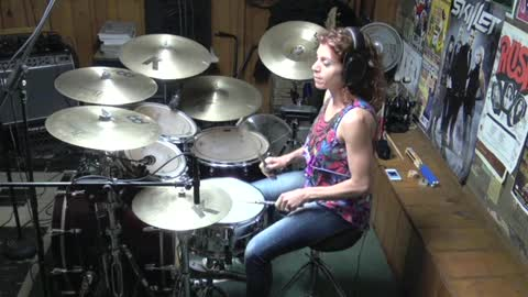 Harden My Heart by Quarterflash Drum Cover