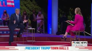 President Trump Schools NBC on Voter Fraud