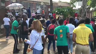 UKZN SRC protest students arrested