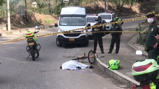 Ciclista murió en accidente en el norte de Bucaramanga 1