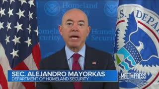 Chuck Todd And sec. Alejandro Mayorkas Discuss The Border Crisis