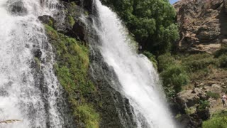 Waterfall Shaki.