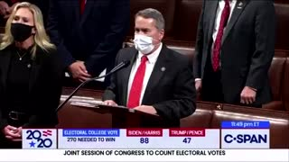 Rep. Marjorie Greene Objects to Georgia's Electoral Votes Alongside Members of Georgia's Delegation