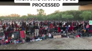 Dangerous situation of Haitian immigrants at US border today