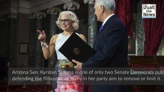Arizona Democrat Sinema defends filibuster, says 'eroding rules' not solution to Senate gridlock