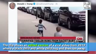 """Twitter has labeled a tweet by President Trump as """"manipulated media."""""""