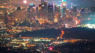 Los Angeles Fireworks 2021.