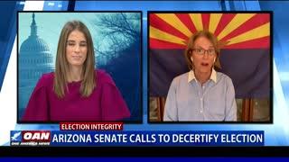 Ariz. Senate calls to decertify election