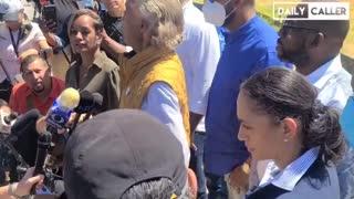 Race Huckster Al Sharpton HECKLED in Del Rio by Patriotic Americans