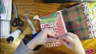 Making a junk journal part5