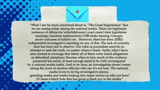 """Last Sip: David Brody on the media's """"Great Suppression"""" on covering Election Fraud"""