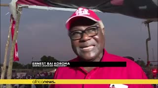 Sierra Leone Election: President Baï Koroma defends choice of successor