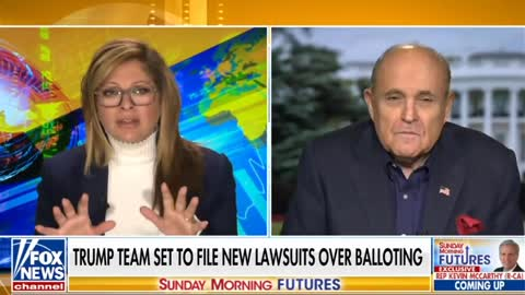 Rudy Giuliani Outlines Election Fraud Lawsuits
