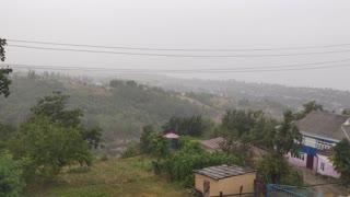 rain in the village