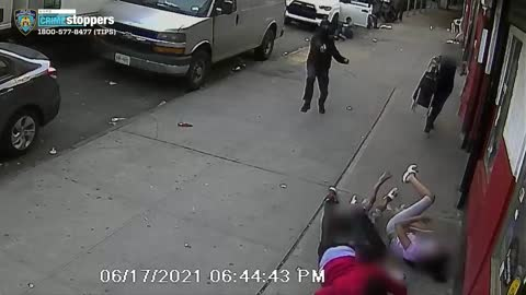 SHOCKING: Two Children Nearly Shot Point Blank as NYC Thug Shoots Up Street