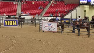 Barrel racing championship at South Point casino on June 2, 2017.