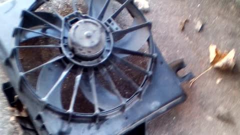 Ram 1500 condenser fan