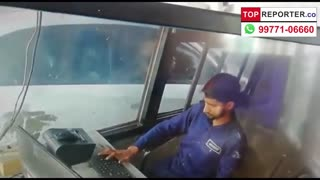 Unexpected Passenger stealing money from the bus