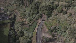A Road That Runs Through a Rock