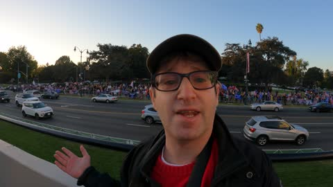 President Trump Freedom Rally in Beverly Hills
