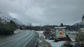 Snow drive oak glen. 12pm. Fri jan 21 2021