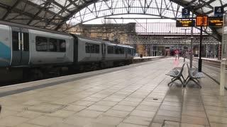 Train a station