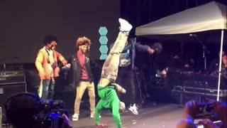 Crazy dance moves