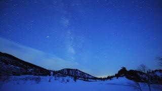 Time Lapse Milky Way at Yumi Lake