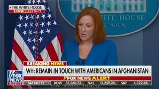 Jen Psaki talks about Biden's speech