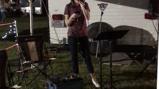 Kaylee singing 1