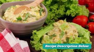 Keto Recipe - Curry Spiked Tuna and Avocado Salad