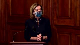 Pelosi signs articles of impeachment against Trump