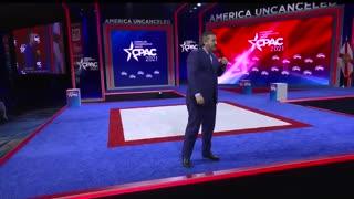 Senator Ted Cruz at CPAC 2021