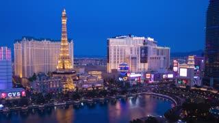 Las Vegas Sunset Panning